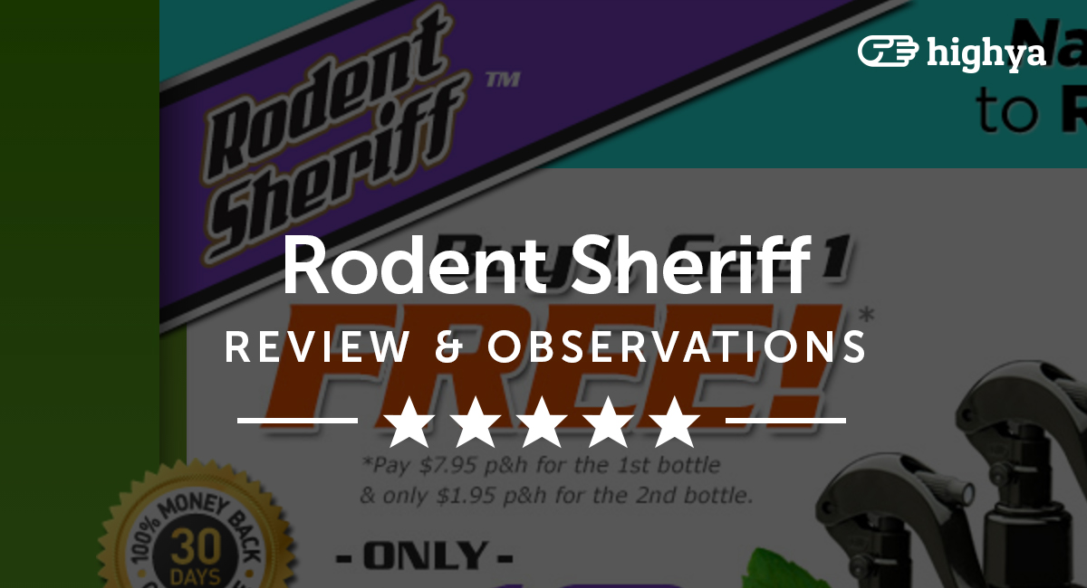 Rodent Sheriff Reviews Is It A Scam Or Legit