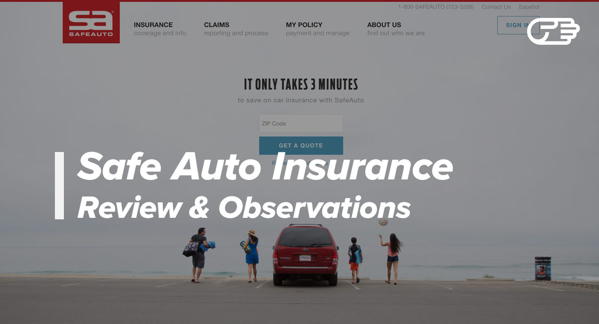 Safe Auto Quotes Adorable Safe Auto Insurance Company Reviews  Good Highrisk Car Insurance