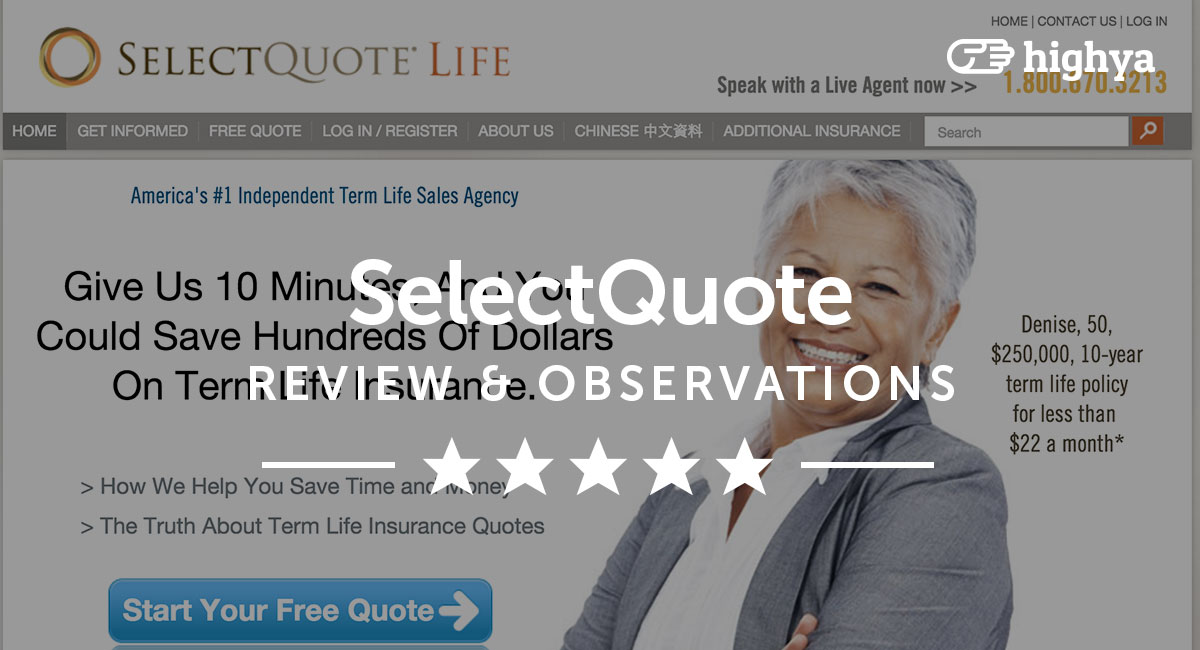 Select Quote Life Insurance Rates: Selectquote Life Insurance Rates