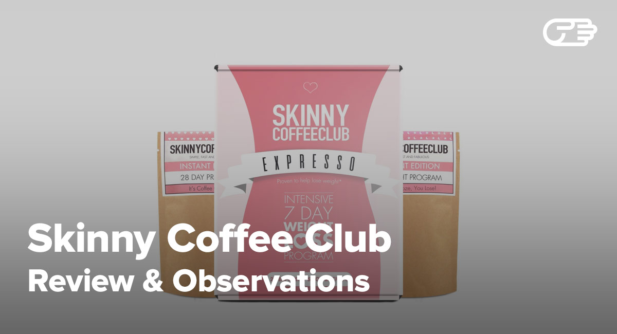 Skinny Coffee Club Reviews Is It A Scam Or Legit