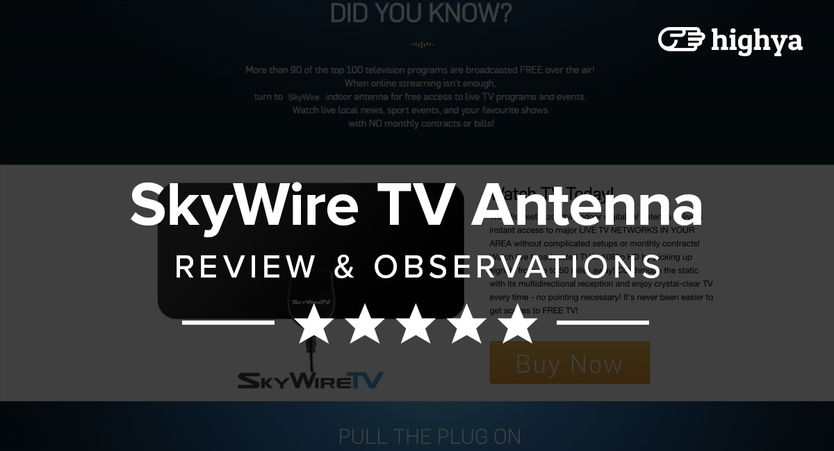SkyWire TV Antenna Reviews - Is it a Scam or Legit?