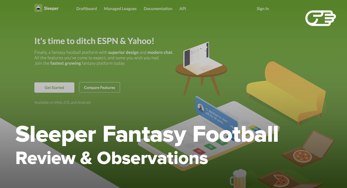 Sleeper Fantasy Football Reviews - Should You Make the Switch?