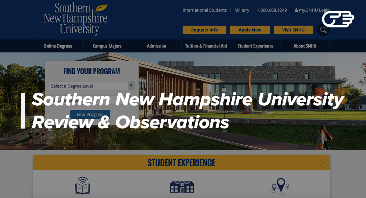 Southern New Hampshire University Reviews   Right Place To Get A Degree