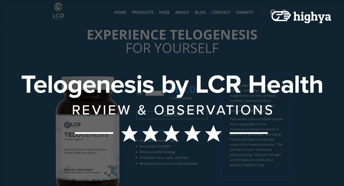 Telogenesis By Lcr Health Reviews Is It A Scam Or Legit