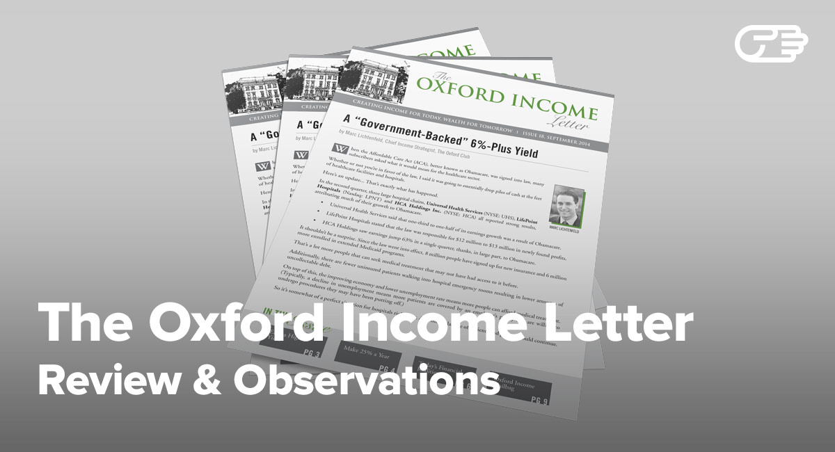 The Oxford Income Letter Reviews Is It A Scam Or Legit
