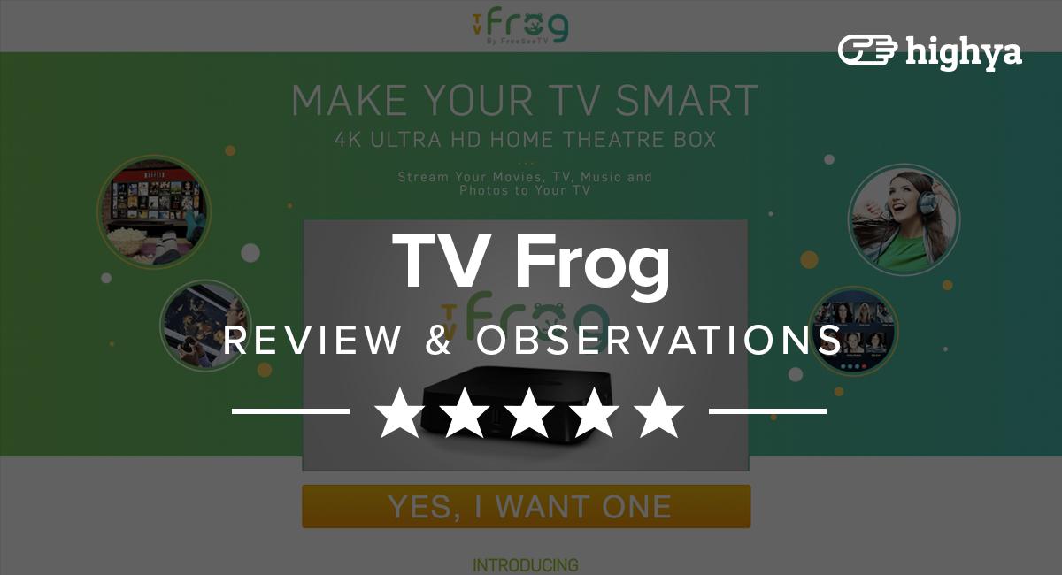 Frog Box Tv