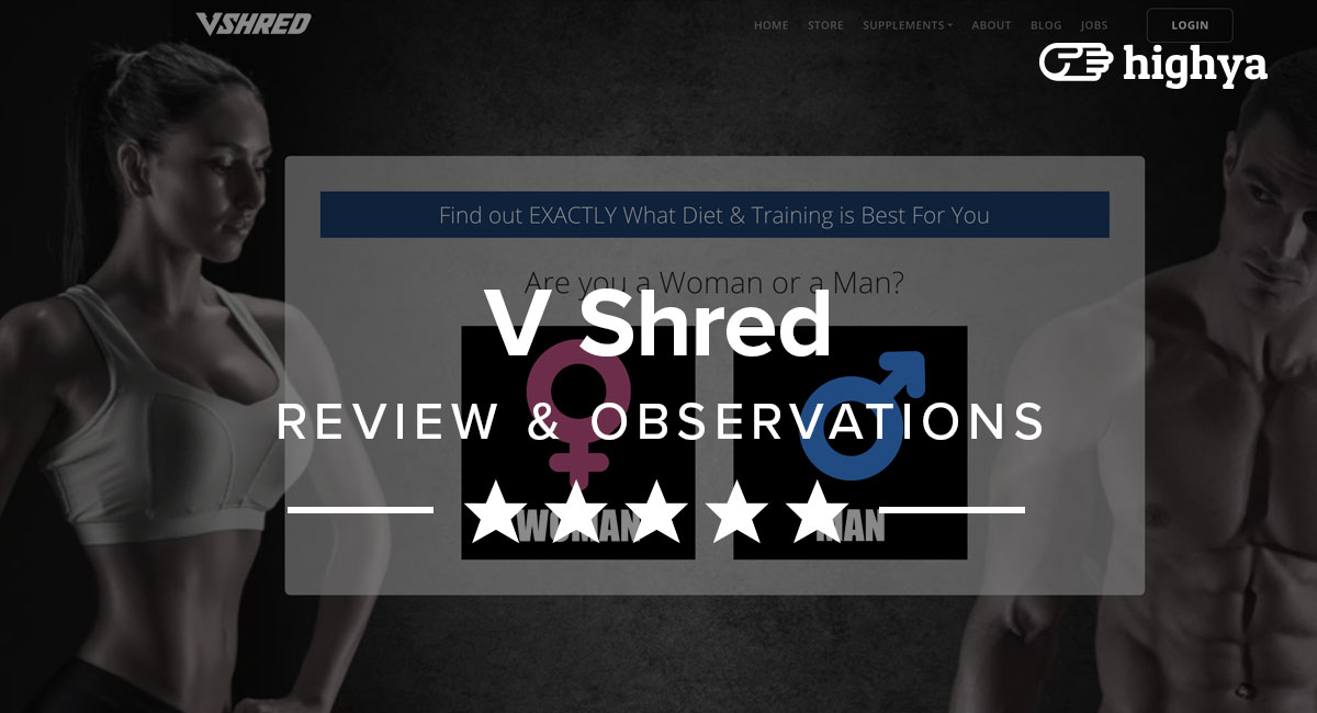 b2bd258791 V Shred Reviews - Hype or Actually Lose Weight