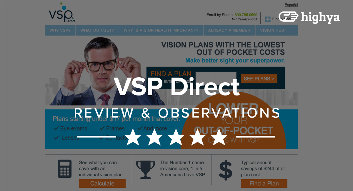 VSP Direct Eye Insurance Reviews - Is it a Scam or Legit?